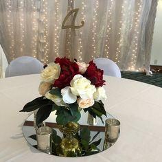 14 best mirror wedding centerpieces images centerpieces rh pinterest com