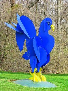 Delaware Blue Hen  University of Delaware  Photo by (Elaine Kucharski)