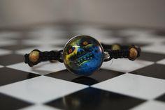 Majora's Mask Moon Bracelet by zeldalilly on Etsy, $20.00