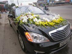 Cho thuê xe cưới Mercedes S500 đời mới nhất - Xe cưới VIP