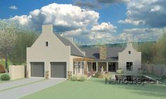 South African house plans for sale online. Buy contemporary 4 bedroom double storey, modern 5 bedroom floor plans, 3 bedroom house plans with photos. House Plans For Sale, House Plans With Photos, Modern House Plans, 4 Bedroom House Designs, 4 Bedroom House Plans, House Front Design, Modern House Design, Double Storey House Plans, House Plans South Africa