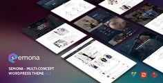 Download Free              Semona - Creative Multi-Concept WordPress Theme            #               agency #blog #business #corporate #customizer #dark #fashion #light #multi-purpose #portfolio #seo #store #theme-paradise