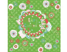 Beautiful Christmas  pattern by  Evelyn Lisi