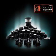 Sony Mirrorless Range