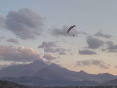 Erciyes Dağı ve Yamaç Paraşütü