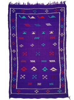 Beautiful purple moroccan Berber rug handpicked by kira-cph.com