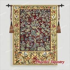 MEDIUM-William-Morris-Tree-of-Life-Fine-Art-Tapestry-Wall-Hanging-55-x41