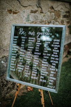 Mirror table plan Rustic Wedding Signs, Wedding Signage, Our Wedding, Wilton Castle, Mirror Table Plan, Diy Wedding Projects, Crossed Fingers, Diy Wedding Decorations
