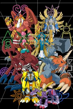 Digivolve into Ultimate by ~racookie3 on deviantART