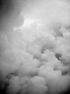 billowy clouds