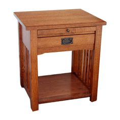 Arts and Crafts End Table/Nightstand | Wood magazine, Woodworking ...