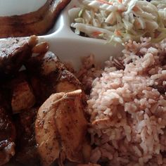 Jamacian Jerk Chicken @ Mama Jamaica Cafe