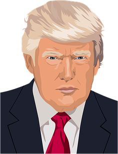 Donald Trump President Of The United States US Presidential Election 2016 Independent Politician PNG - cartoon, celebrities, cheek, chin, cool The Killers, Celine Dion, Lady Gaga, Rolling Stones, Rihanna, Loose Fit, Arrogant People, Psychic Predictions, Carta Magna