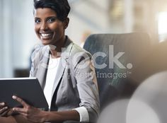 She's a business success royalty-free stock photo