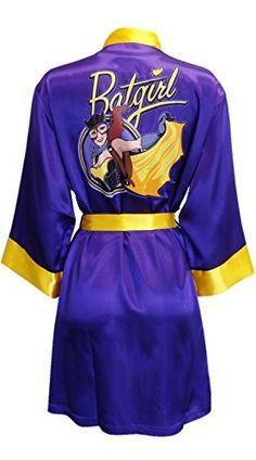 DC Comics Batgirl Bombshell Satin Robe | Geek Armory