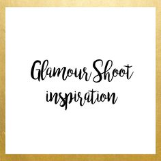 Glamour Shoot