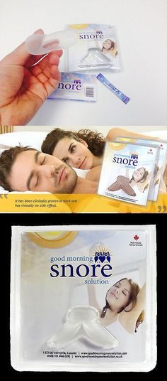 Other Sleeping Aids: Good Morning Snore Solution Clinically Proven Snore Solution BUY IT NOW ONLY: $80.99