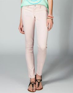 Colored jeans from Tilly's, comes in 10 colors.