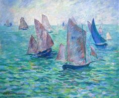 Les Regates Theodore Earl Butler - 1906