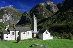 Broglio church - Valle Maggia - Canton Ticino - Switzerland