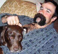 Walrus Mustache, Mustache Styles, Beard No Mustache, Moustache, Great Beards, Awesome Beards, Hairy Men, Bearded Men, Beard Images