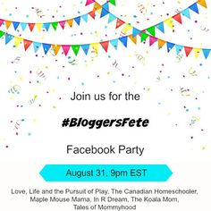 Tales of Mommyhood: Join Us For The #BloggersFete Facebook Party