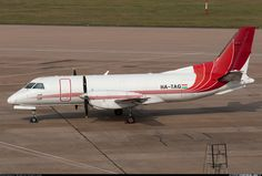 Saab 340AF, Fleet Air International, HA-TAG, cn 340A-078, cargo, first flight 26.11.1986 (Bar Harbor Airlines), Fleet Air delivered 14.1.2013. Foto: Birmingham, United Kingdom, 12.3.2016.