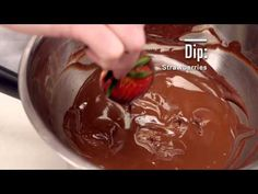 Chocolate Dipped Strawberries #TheFoodChannel #recipe