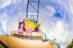 Join the madness! #clowngirls #costumedesign #colorful #costumediy #costumeinspo #clowns #funny #sky #bluesky #friends