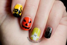 ALL OF THE ABOVE (Tutorial at So Nailicious)