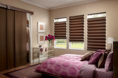 Sliding Panels: Also known as vertical panels or panel tracks, they are you modern alternative to vertical blinds. Best solution for sliding patio doors or wide windows. Available in tons of colour and fabric options. http://www.windowinspirations.ca/