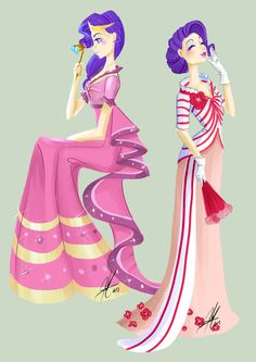 Rarity, the dress will be hard to make, but TOTALLY worth it