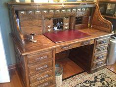Desks Antiques And Tops On Pinterest