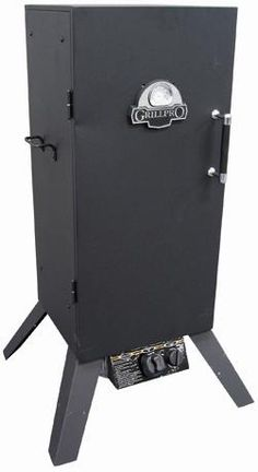 Barbecues Galore - Outdoor Cooking - SMOKERS > GRILL PRO > VERTICAL PROPANE SMOKER