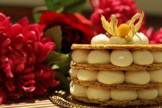Nude look con la nakedcake. Torte per stupire! #dolci #cake #dolcicarnevale #millefoglie #cremachantilly #cremapasticera #nakedcake