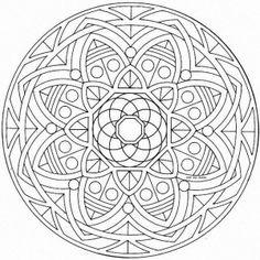 11 mandalas para colorear budistas (3)