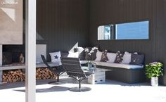Aske Outdoor Sectional, Sectional Sofa, Outdoor Paint, Outdoor Decor, Safari, Sun Lounger, Outdoor Furniture Sets, Conference Room, Exterior