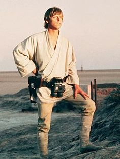 Mark Hamill as Luke Skywalker - Star Wars: A New Hope