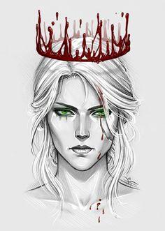 Cirilla by Anastasia Kulakovskaya (Witcher)