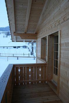 balcony of a Swiss chalet (Lenk)