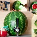 How to make DIY watermelon cocktail dispenser | DIY Tag