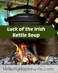 Luck of the Irish Kettle Soup | Hillbilly Housewife