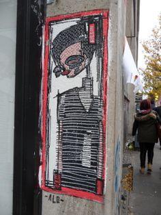 ALO http://www.widewalls.ch/artist/alo/ #streetart #urban #art #graffiti