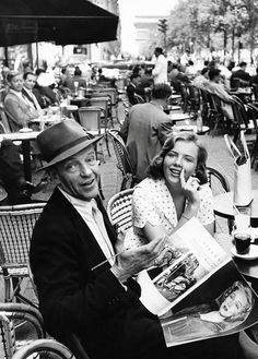 Fred Astaire, France, 1961.