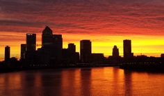 A video posted by Matt Scutt (@mattscutt) on Dec 12, 2014 at 12:55am PST Get up early today? You might have spotted this morning's incredible sunrise.London's skyline burnt red and orange as dawn ...