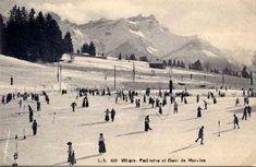 Villars sur Ollon Skiing, Travel, Outdoor, Vintage, Hill Country Resort, Antique Post Cards, Tourism, Ski, Voyage