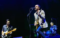Indio, Calif. — The Shins, led by James Mercer, perform Saturday night.