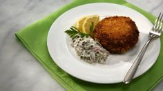 One of the simplest sauces to make, tartar sauce is a mayonnaise mixture combined with capers, dill pickles, shallots, herbs, and lemon juice. It's a classic accompaniment for fried fish.