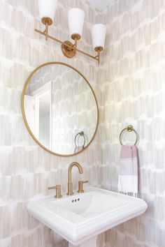 Budget Friendly Powder Room Renovation: Before and After | Olive and Tate