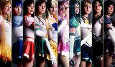 Sailor Moon - The Senshi by DarkMoonProject.deviantart.com on @deviantART